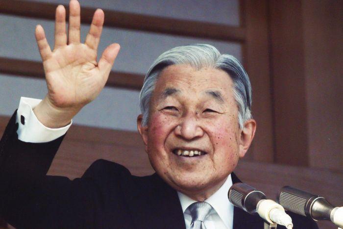 Япония согласна с отречением императора Акихито 30 апреля 2019 года