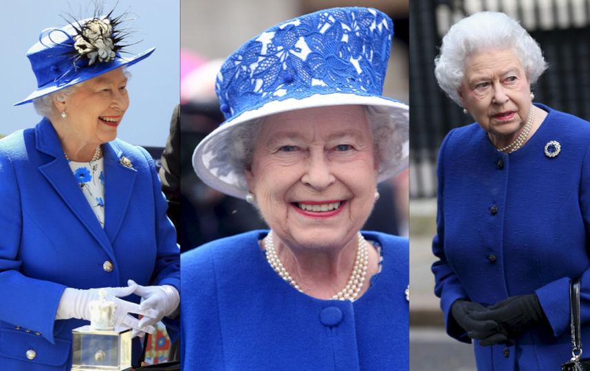 яркие наряды королевы