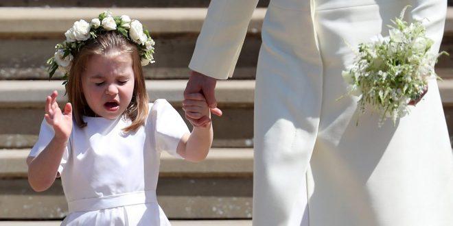 Принцесса Шарлотта чихнула на свадьбе, снова восхитив своих поклонников