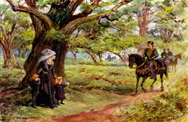 Встреча Елизаветы и Эдуарда IV
