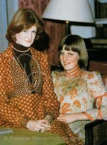 Диана со своей старшей сестрой Сарой