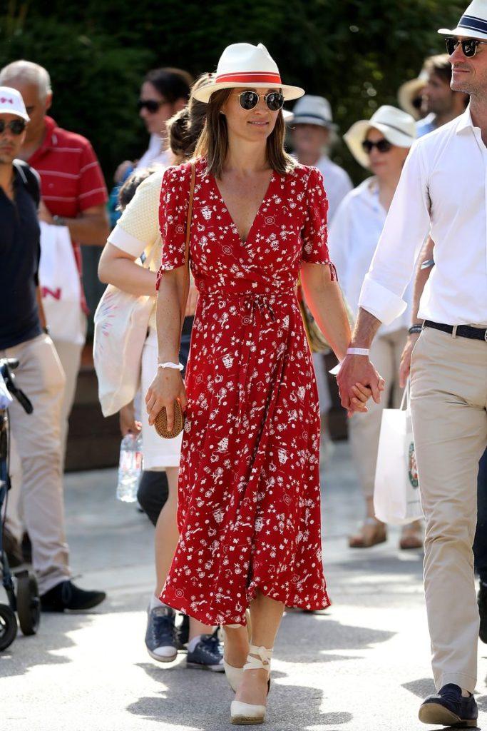 Пиппа Миддлтон надела безупречное платье от Ральфа Лорена