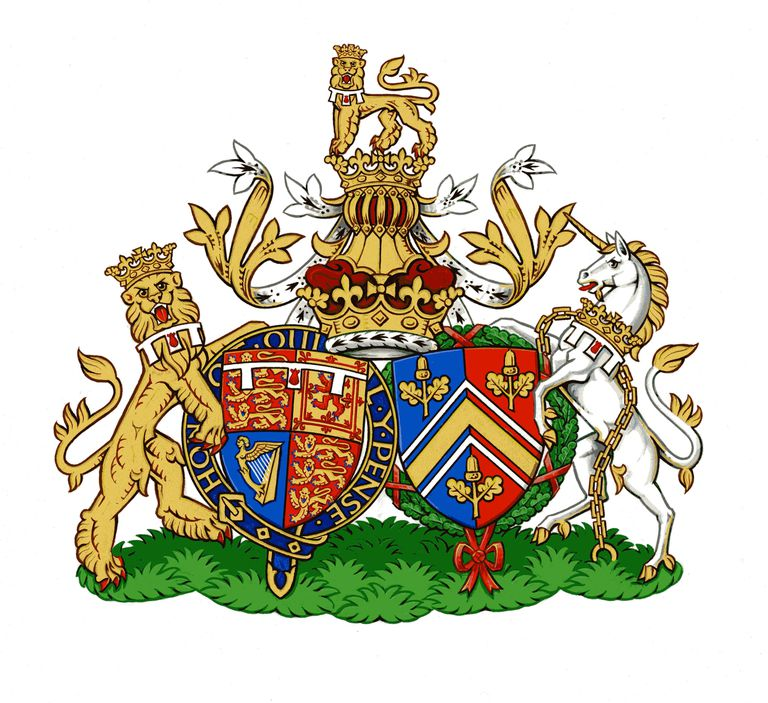 Супружеский герб герцога и герцогини Кембриджских
