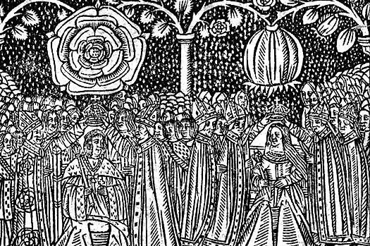 Коронация Генриха VIII и Екатерины Арагонской