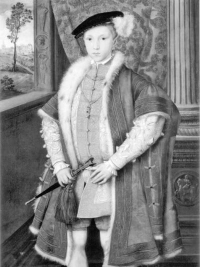 Эдуард VI, сын Генриха VIII и Джейн Сеймур