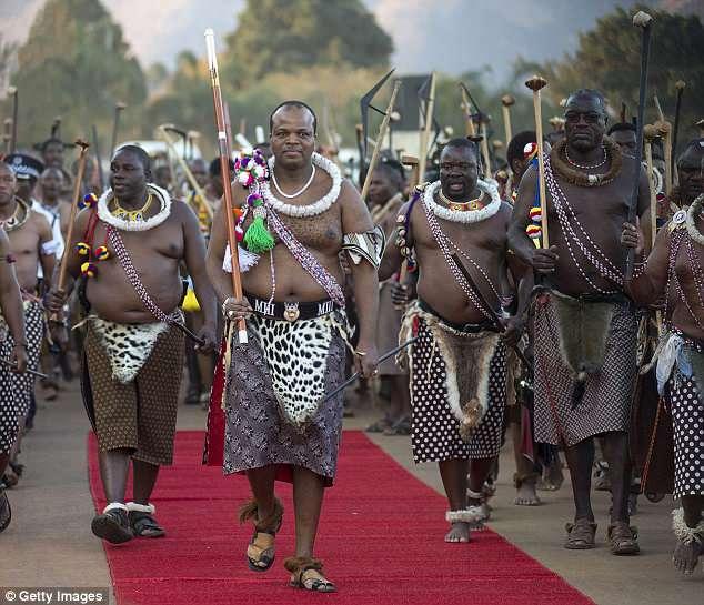 Король Свазиленда Мсвати III
