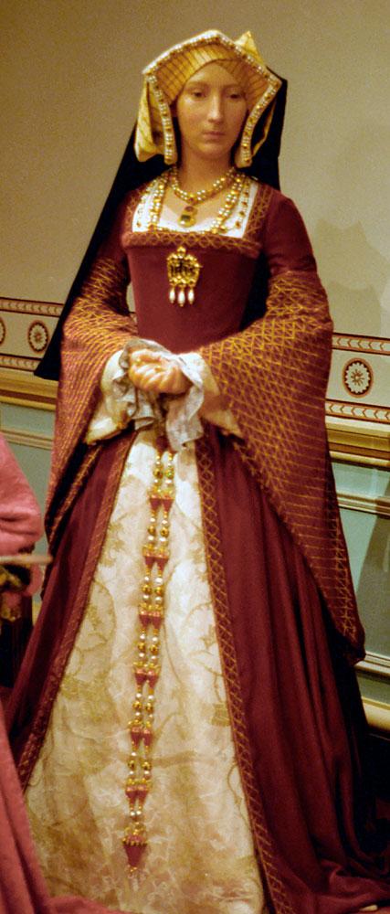 Восковая фигура Джейн Сеймур в музей мадам Тюссо, Лондон