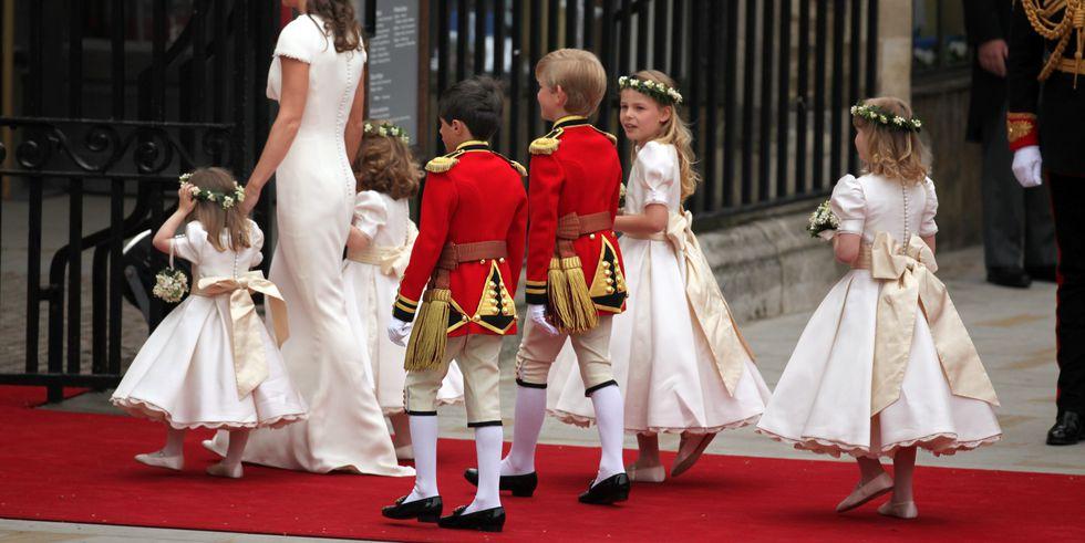 Photo of Королевские дети на королевских свадьбах