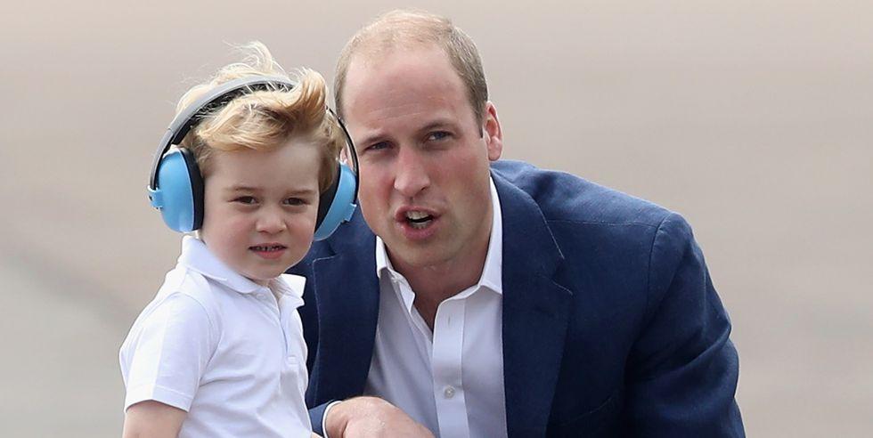 Принц Уильям стал Супергероем для Принца Джорджа