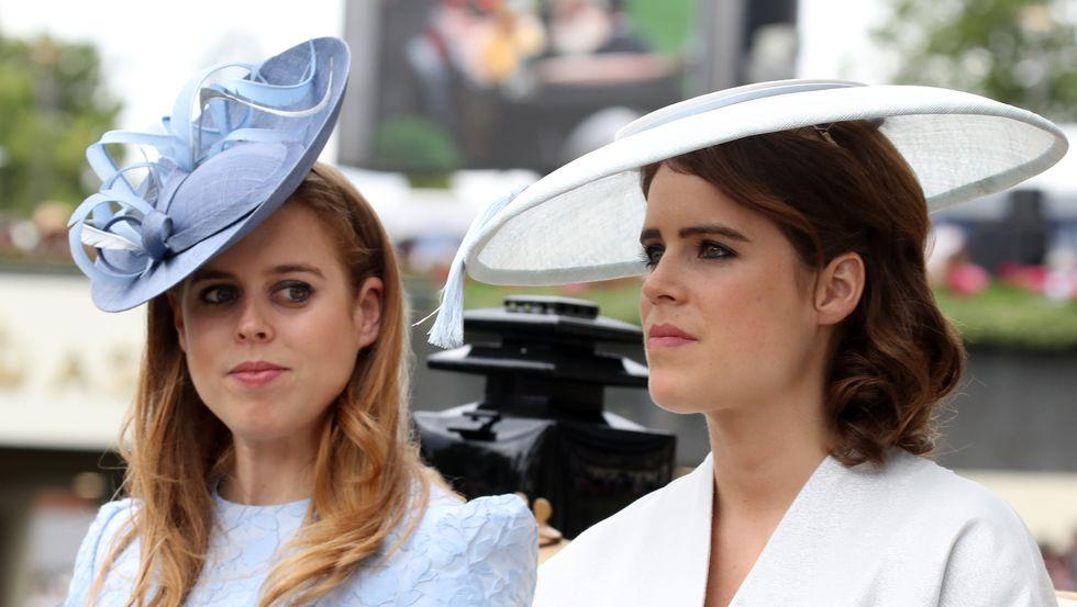 Принцесса Беатрис и принцесса Евгения