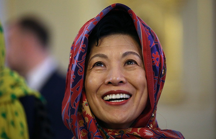 Photo of Принцесса Японии Хисако Такамадо благодарит Россию