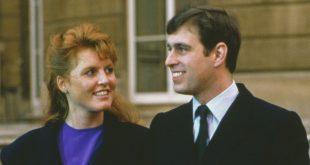 Сара Фергюсон и и принц Эндрю