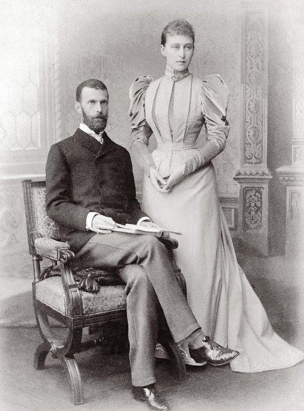 Великие князь Сергей и княгиня Елизавета