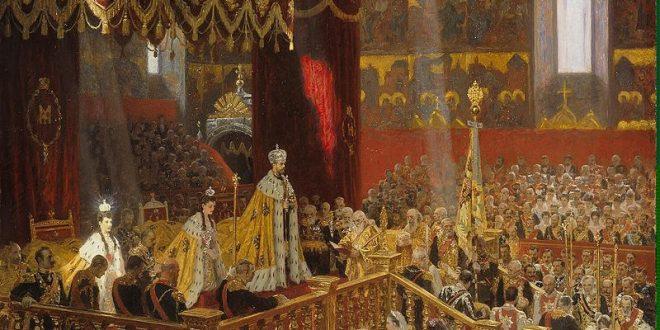 Коронация Николая II в Успенском соборе