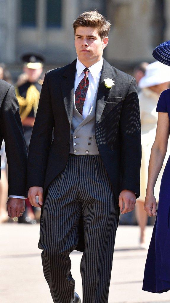 Артур Чатто на свадьбе принца Гарри и Меган Маркл
