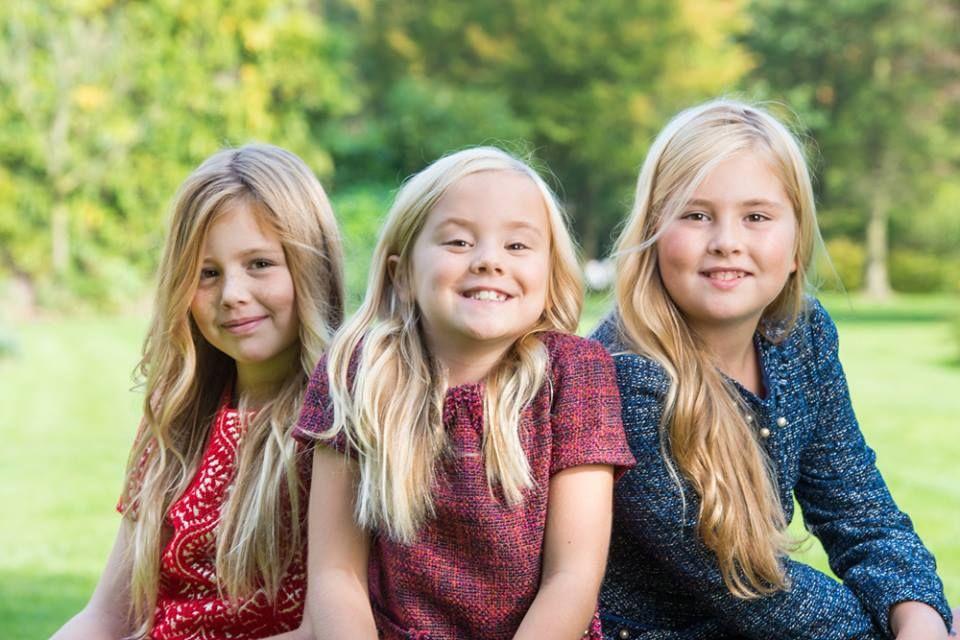 Катарина-Амалия Нидерландская c сестрами