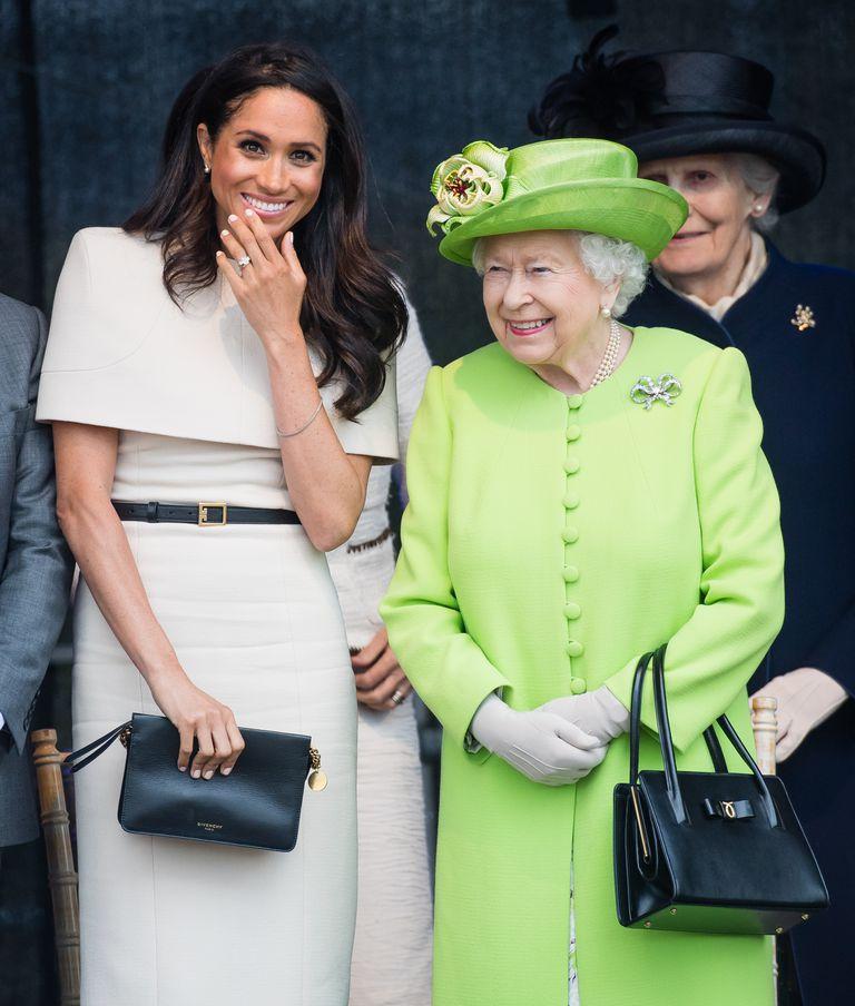 Герцогиня Сассекс сопровождала королевув Чешир