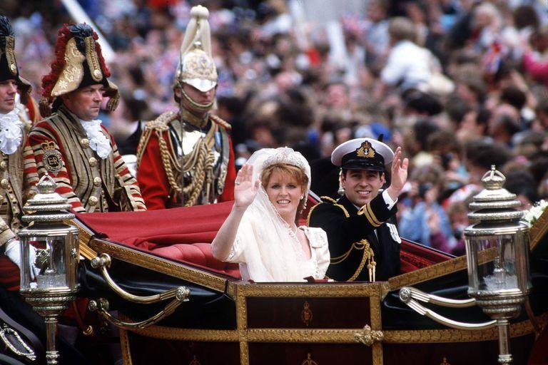 Свадьба Сары Фергюсон и принца Эндрю