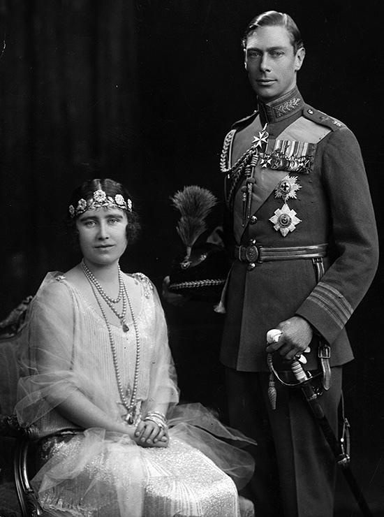 Свадьба Элизабет Боуз-Лион и принца Альберта