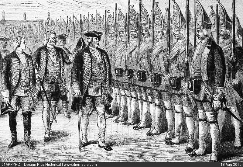 """Photo of Потсдамские гиганты: как король Пруссии """"вырастил"""" армию суперсолдат"""