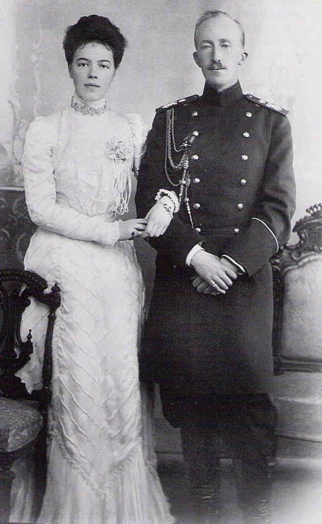 Ольга и Петр Ольденбургский
