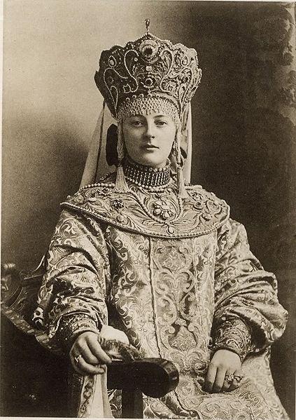 Надежда Дмитриевна Вонлярлярская (в девичество Набокова), тётя знаменитого писателя Владимира Набокова