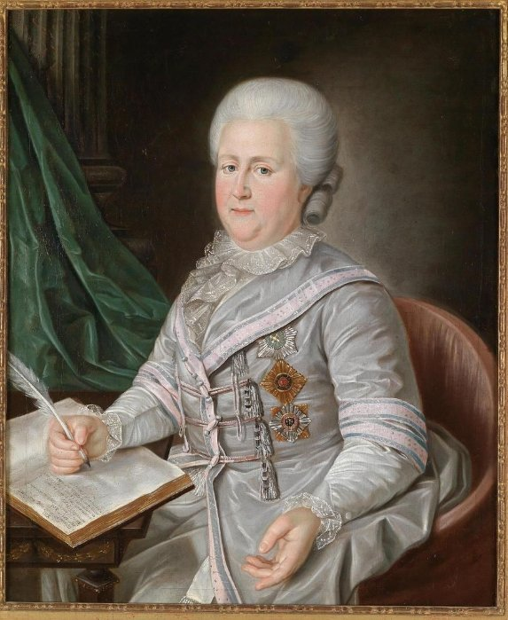 Неизвестный художник. Портрет Екатерины Великой в старости