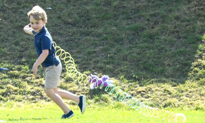Принцу Джорджу в воскресенье исполняется пять лет