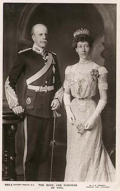 Луиза, Принцесса Королевская и ее муж Александр Дафф, 1-й герцог Файф; фото кредит-Википедия