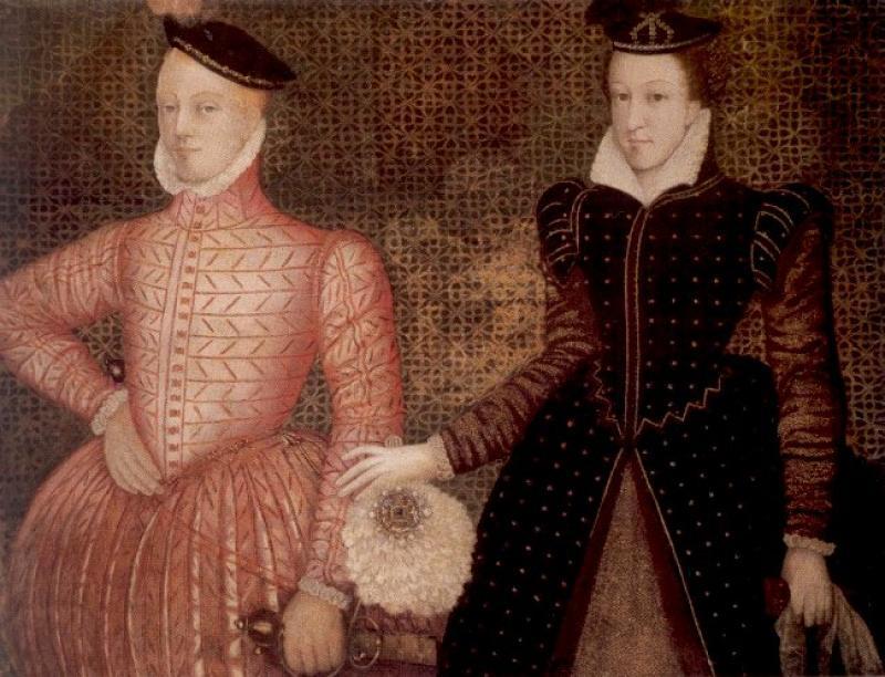 Королева Шотландии Мария и Генрих Стюарт