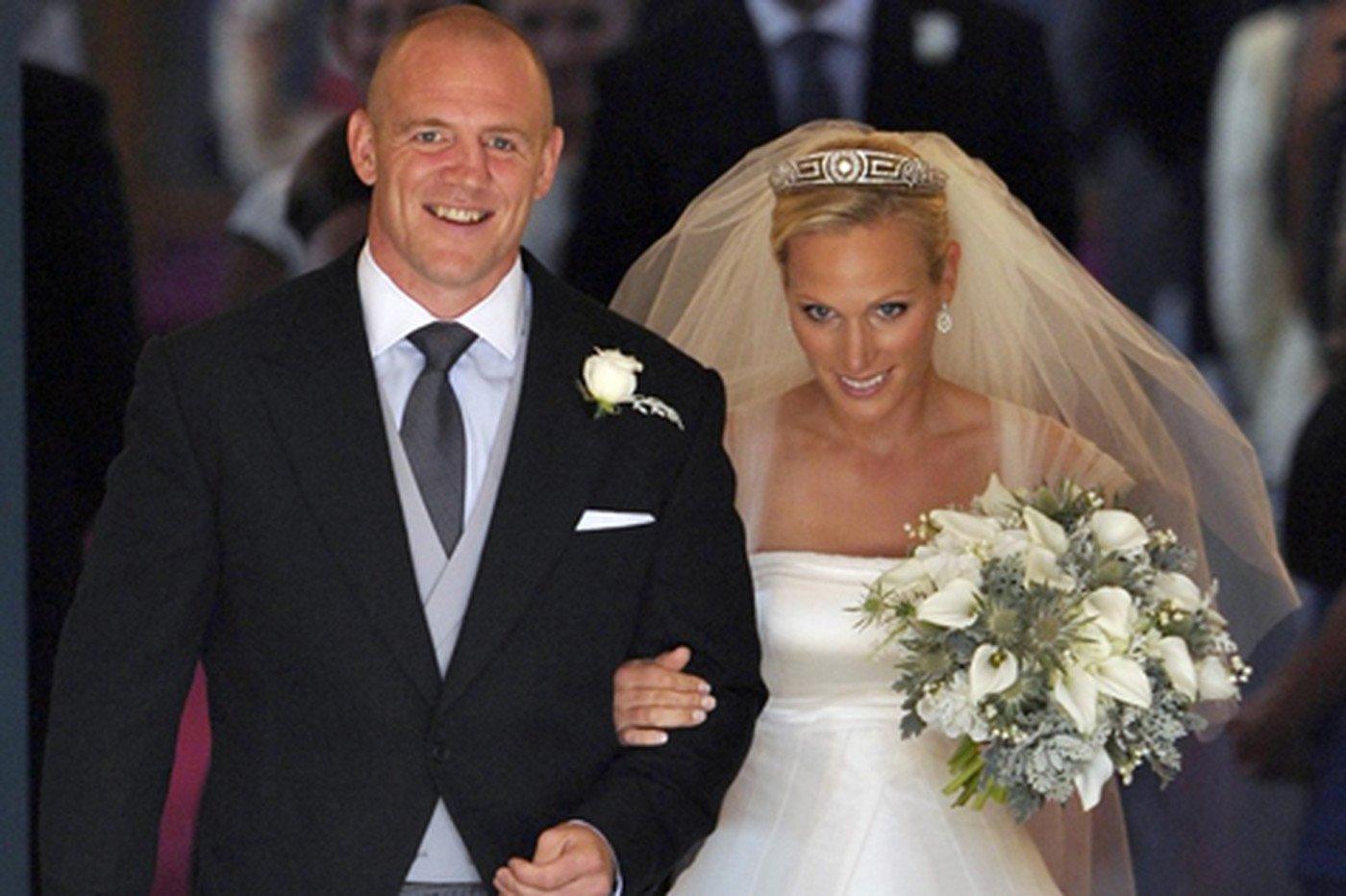 Свадьба Зары Филлипс и Майка Тиндалла