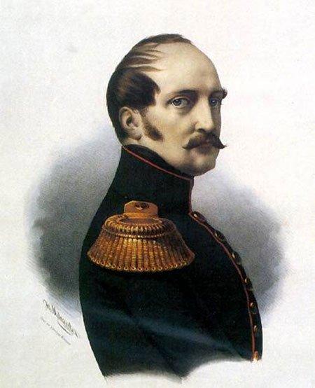 Николай Первый. Неизвестный художник