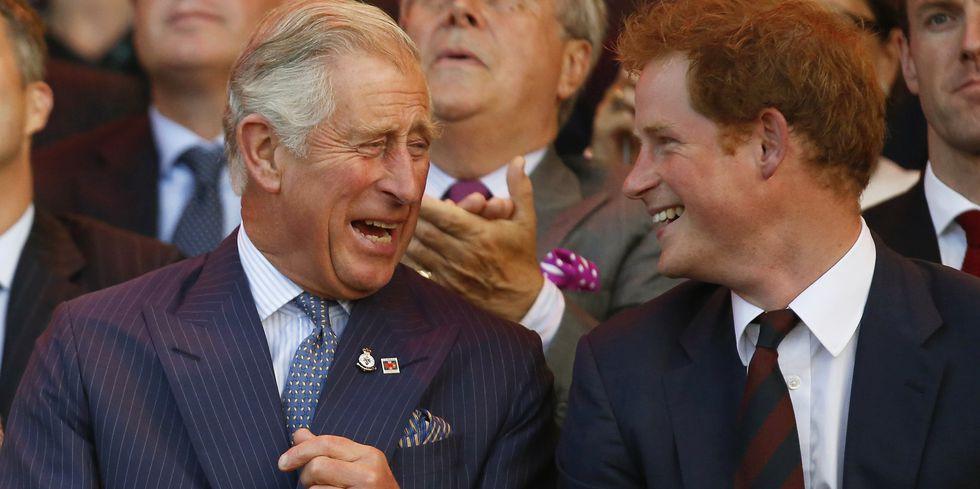 Принц Гарри неудачно пошутил про своего отца
