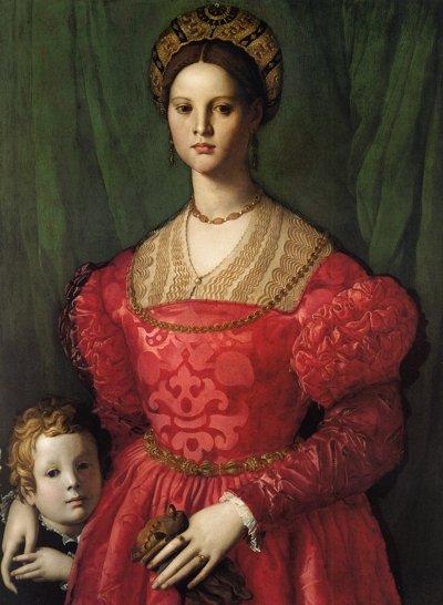Мария Медичи с братом
