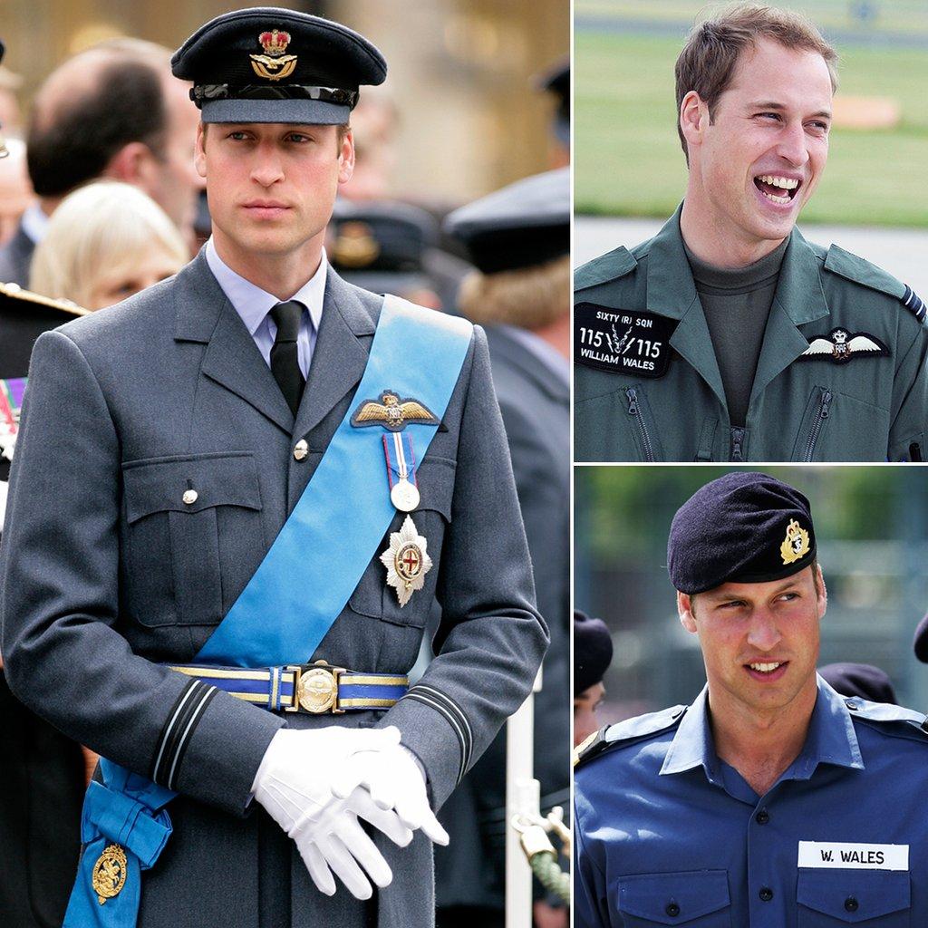 Принц Уильям в форме