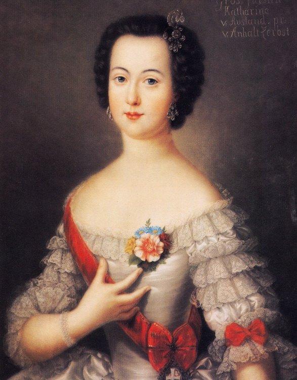 Екатерина в молодости портрет