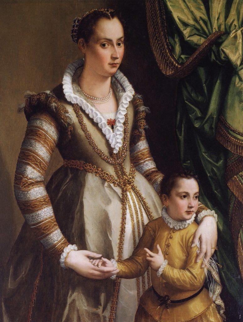 Изабелла Медичи с сыном