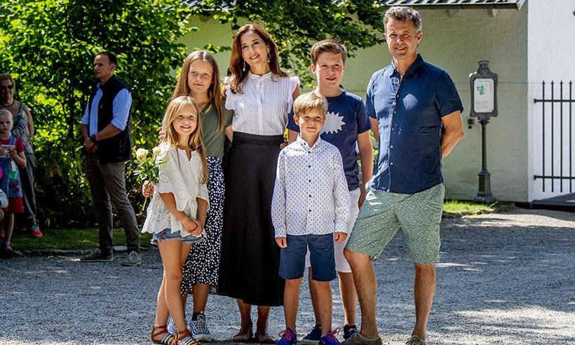 Датская королевская семья