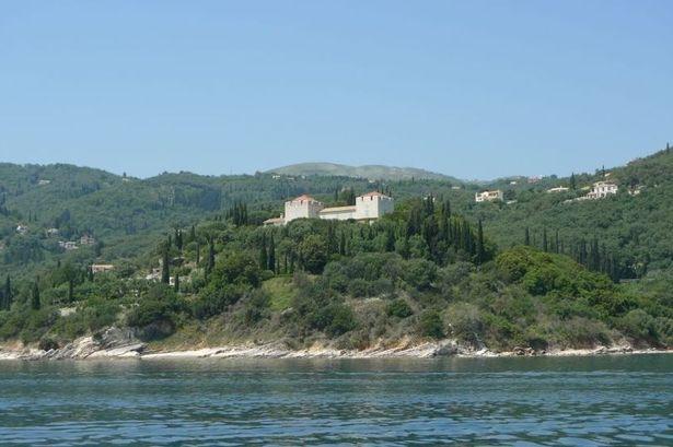 Ротшильд вилла на острове Корфу (изображение: Бирмингем почте)