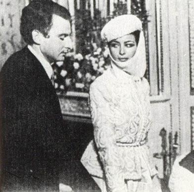 Король Фуад II Египта и Судана и Ее Королевское Высочество Принцесса Египта Фавзия Латифа