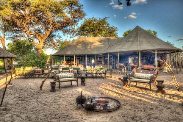 Принц Гарри и Меган Маркл разбили лагерь под звездами в Мено-а-Квена лагеря в Ботсване (изображения: Booking.com)