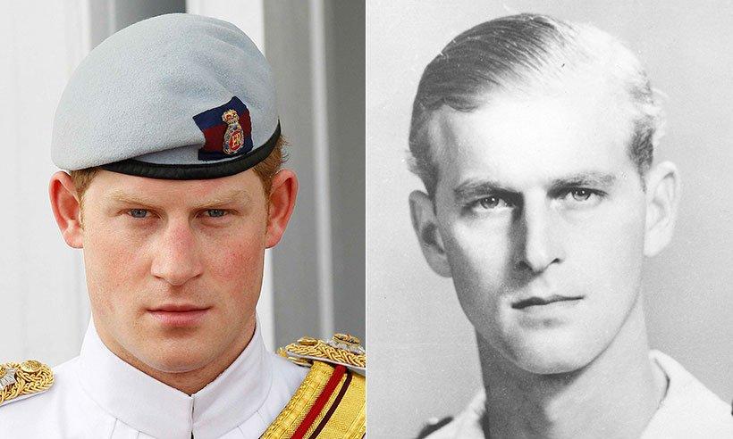 Принц Гарри - копия принца Филиппа