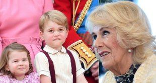 Как принц Джордж и принцесса Шарлотта называют Камиллу