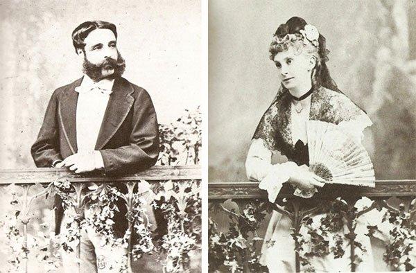 Герцог Альбукерке и Софья Трубецкая