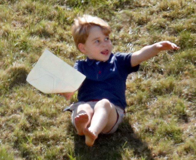 Принцу Джорджу исполнится пять лет в воскресенье