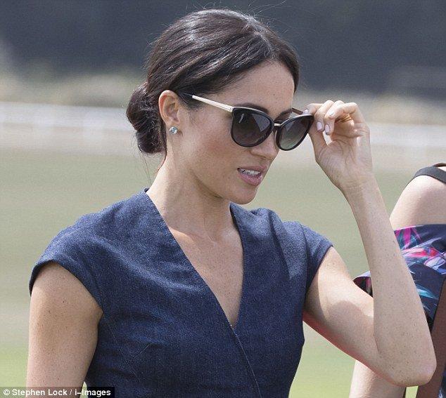 Меган Маркл в солнцезащитных очках