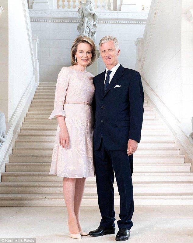 Король Филипп и Королева Матильда