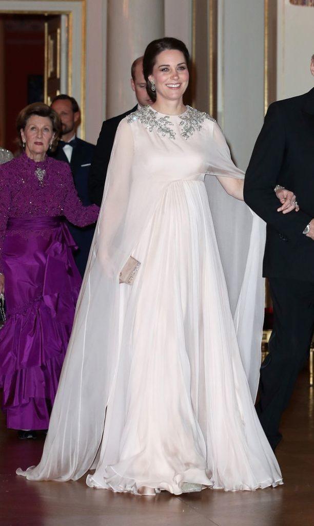 Кейт и Король Норвегии Харальд V