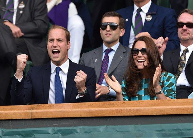 Кейт и принц Уильям часто являются гостями в королевской коробке на Уимблдоне