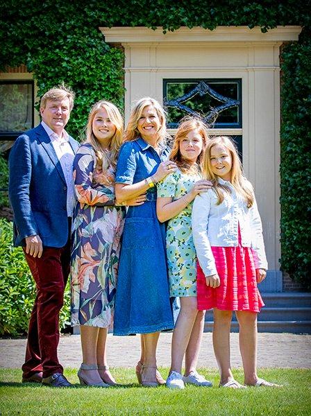 Голландская королевская семья
